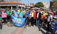 HALİL İBRAHİM ŞENOL - 250'Ye Yakın Bisikletçi 'Doğa İçin' Pedala Bastı