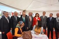 RAMAZAN AKYÜREK - Adana 6. İstihdam Fuarı'nda Kan Bağışına Yoğun İlgi
