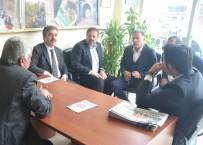 SİVİL TOPLUM - AK Parti'den Basın Kuruluşlarına Ziyaret