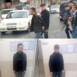 KANARYA MAHALLESİ - AK Parti Seçim Aracına Saldırı Kamerada