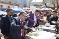 SERKAN YILDIRIM - Başkan Duymuş, Milletvekili Eldemir'le Beldede Vatandaşlarla Bir Araya Geldi
