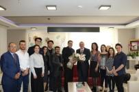 GENEL SANAT YÖNETMENİ - Başkan Ergün, Tiyatrocuları Ağırladı
