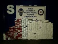 SIGARA - Batman'da 85 Bin 30 Paket Kaçak Sigara Ele Geçirildi
