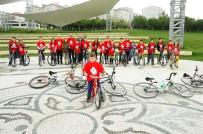 EROL GÜNAYDIN - Bisikletçilerin Vadisi'nde Kitap Okuma Keyfi