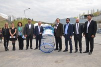 MEHMET ŞENTÜRK - ÇEVKO'dan Kuşadası Belediyesi Geri Dönüşüm Tesisi'ne Ziyaret