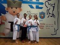 ALTIN MADALYA - Darıcalı Karateciler Balkan Şampiyonu Oldu
