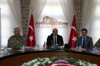 MEHMET FEVZİ DÖNMEZ - Elazığ'da AFAD Kurulu Değerlendirme Toplantısı Yaptı