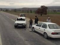 Emet'te Trafik Kazası Açıklaması 1 Yaralı