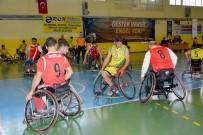 BEDENSEL ENGELLILER - Engelsiz Ceylanlar Küçükçekmece Bedensel Engellileri Mağlup Etti