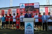FUTBOL TURNUVASI - Eyyübiye Belediyesinin Düzenlediği Futbol Turnuvası Sona Erdi
