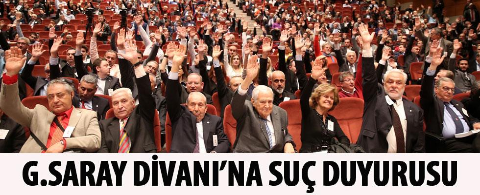 Galatasaray Divanı'na suç duyurusu