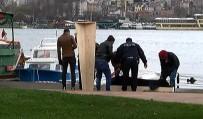 İNSAN BEDENİ - Haliç'ten Kadın Cesedi Çıkarıldı