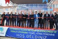 GENEL SEKRETER - Hayrabolu Meydan Düzenlemesi Ve Yeraltı Otopark'ın Temeli Atıldı