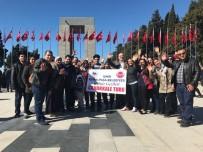 İŞİTME ENGELLİ - İşitme Engelli Vatandaşlar Çanakkale'de Şehitlikleri Gezdi