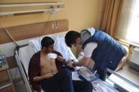 İLYAS ÇAPOĞLU - Kalp Krizi Geçiren Hastaya Başbakan Yıldırım'dan Geçmiş Olsun Telefonu