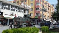 Kızıltepe'de DBP İlçe Binasında Arama