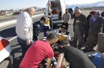Konya'da Triportör Devrildi Açıklaması 2 Yaralı