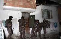 Mersin'de 245 Polisle Şafak Operasyonu
