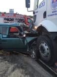Mersin'de Trafik Kazası Açıklaması 1 Ölü, 5 Yaralı