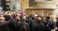 İSRAIL - İsrail polisi Mescidi Aksa'nın üç muhafızını gözaltına aldı
