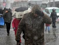 HAVA SICAKLIĞI - Meteoroloji'den kar ve yağmur uyarısı