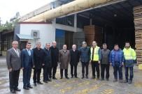 KARAKAYA - Milletvekili Demir'den SFC Entegre'ye Ziyaret