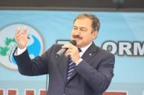 TEMEL ATMA TÖRENİ - Nallıhan Uzunöz Barajı Sulama Şebekesi Temel Atma Töreni