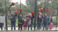 GÖKMEN - Otomobil Değerindeki Papağanları Bakıcıları Ağzıyla Besliyor