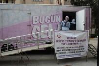 'Pembe Prenses Kanser Tarama Aracı' Silvan'a Geldi