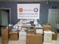 SIGARA - Silivri'de Bir Evde 32 Bin Paket Kaçak Sigara Ele Geçirildi