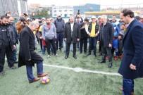 NECIP UYSAL - Suriyeli Çocuklar Futbol Liginde Ter Dökecek