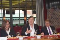 SOSYAL TESİS - TSYD Genel Başkanı Oğuz Tongsir Spor Basını İle Bir Araya Geldi