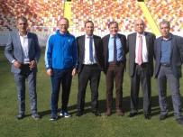 ALLAH - Yönetim Ve Teknik Heyet Yeni Stadyumu Gezdi