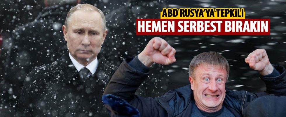 ABD'den Rusya'ya tepki: Hemen serbest bırakın