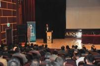 İLÇE MİLLİ EĞİTİM MÜDÜRÜ - Akşehir Belediyesi'nden 'Yeni Anayasa, Yeni Türkiye' Konulu Konferans