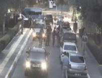 Askerlerin, darbe girişimi sabahında Diyarbakır Adliyesi'ne girişi güvenlik kamerasında
