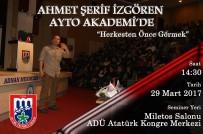 AYTO Akademi, İzgören'i Aydın Halkı İle Buluşturuyor