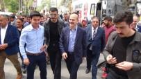 MUSTAFA ÇETIN - Bakan Soylu, Silifke Esnafını Ziyaret Etti