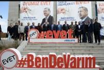 Bakan Tüfenkci 'Evet' Standını Ziyaret Etti