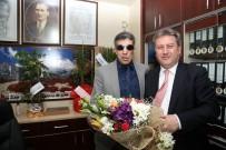 ŞEHİT AİLELERİ - Başkan Palancıoğlu Şehit Ve Gaziler Derneğini Ziyaret Etti