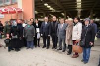PAZAR ESNAFI - Başkan Yağcı'dan Kapalı Pazar Ziyareti