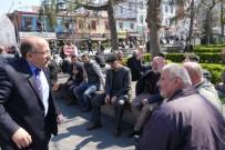 MUHALEFET PARTİLERİ - Başkanlar Gümrükçüoğlu Ve Genç, Referandum Çalışmalarını Sürdürüyor