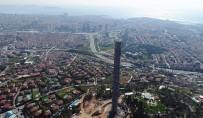 Çamlıca TV Kulesi'nin Son Hali Havadan Görüntülendi