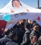 Cumhurbaşkanı Erdoğan 'Hayır' Çadırına Girdi
