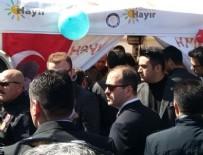Cumhurbaşkanı Erdoğan 'hayır' çadırını ziyaret etti