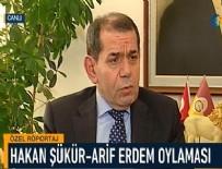 ARİF ERDEM - Dursun Özbek'ten Şükür ve Erdem açıklaması