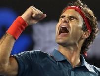 MIAMI - Federer'in bileği bükülmüyor