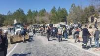 Gediz-Hisarcık Karayolunda Trafik Kazası Açıklaması 1 Yaralı