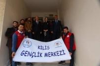 GENÇLİK MERKEZİ - Gençlerden 'Polisimin Yanındayım' Ziyareti