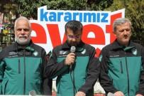 İHH Nevşehir Şubesi 16 Nisan'da 'Evet' Açıklamasında Bulundu